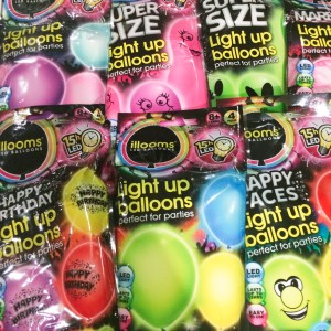 Snap Take The Party With You Illoom Light Up Balloons Photos On